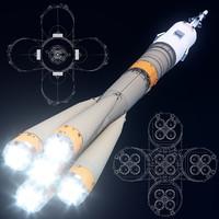 max soyuz-fg rockets