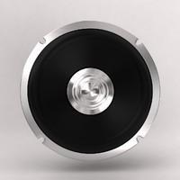 3dsmax speaker