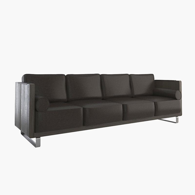 kubo sofa 3d max