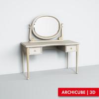 vanity table 3d max