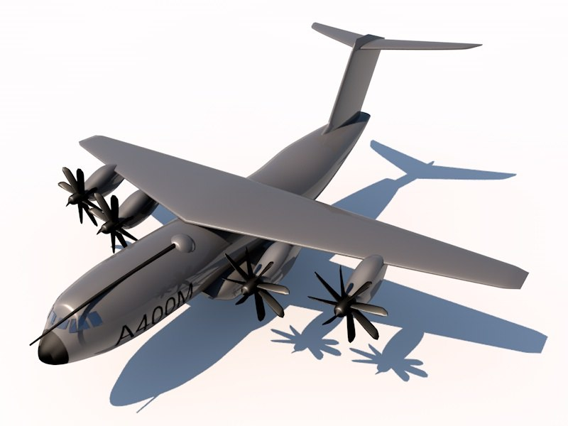 airbus a400m military spain 3d 3ds
