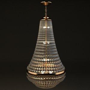 3ds classy chandelier light
