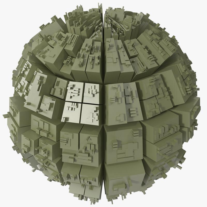 greeble sphere 3d max