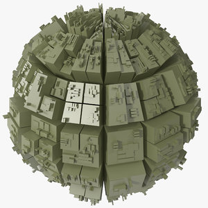 greeble sphere 3d max