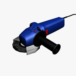 grinder 3d model
