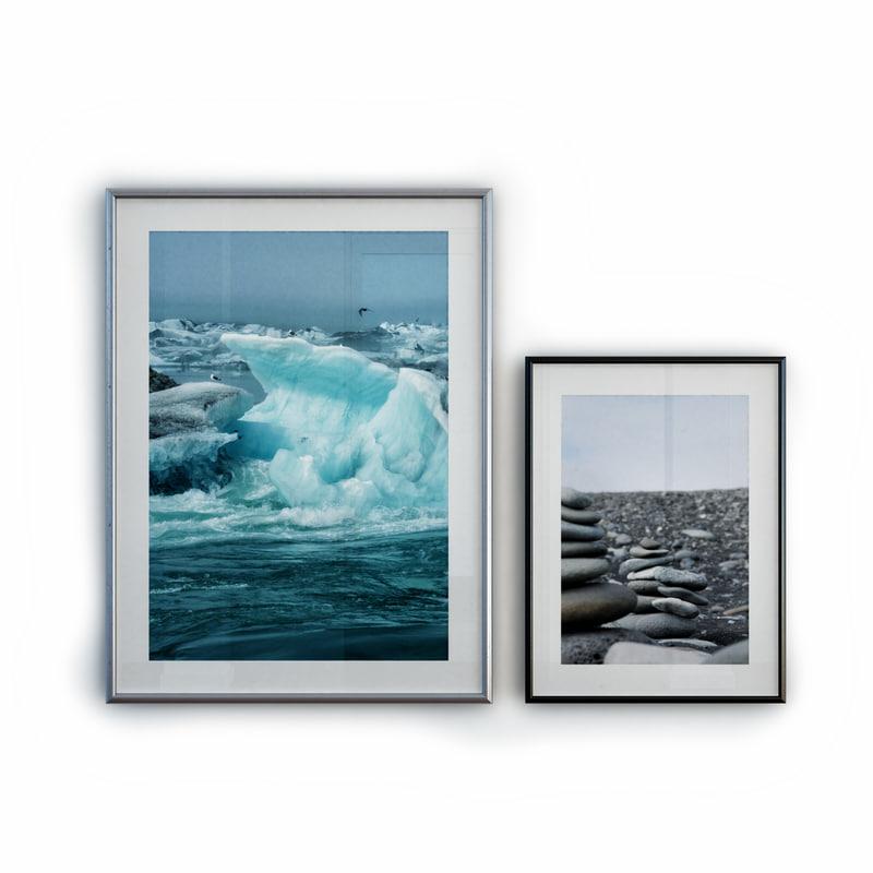 3d frames picture model