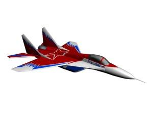 free aircraft mig 29 3d model