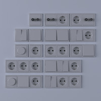light switches c4d