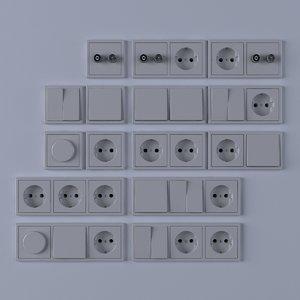 light switches c4d