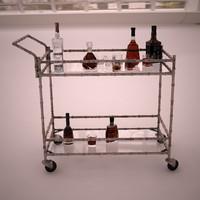 Jill Bar Cart