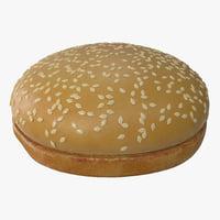 Sesame Seed Hamburger Bun