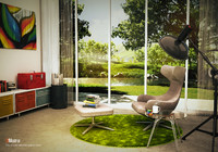 grand repos chair 3d model