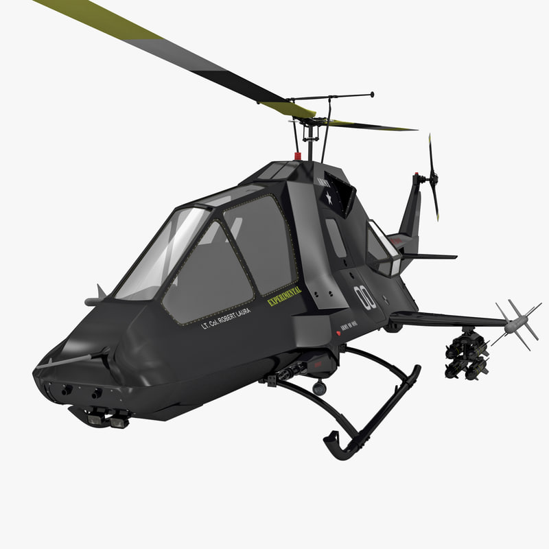 stealth helicopter rigged max