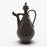 3d traditional vase