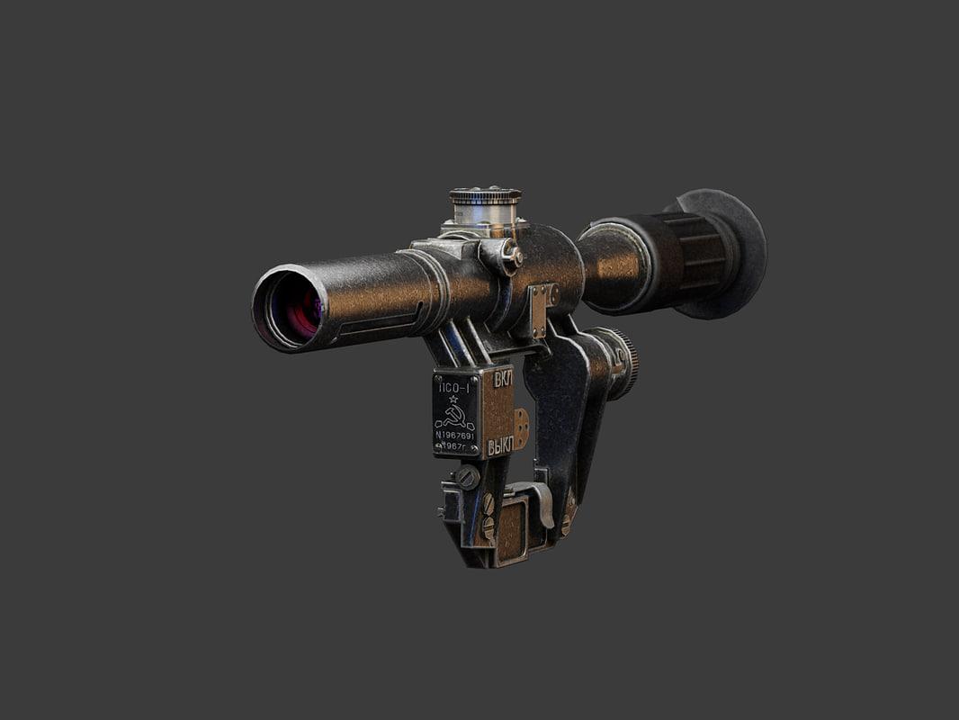 pso-1 optical sniper obj