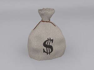 money bag 3d max