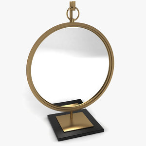 beverly mirror stand 3d model