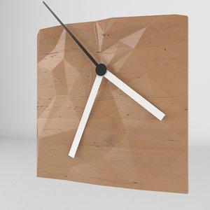 obj clock hands realistic