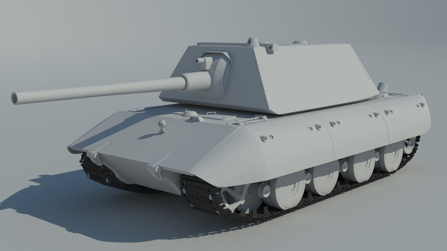 German tank d model