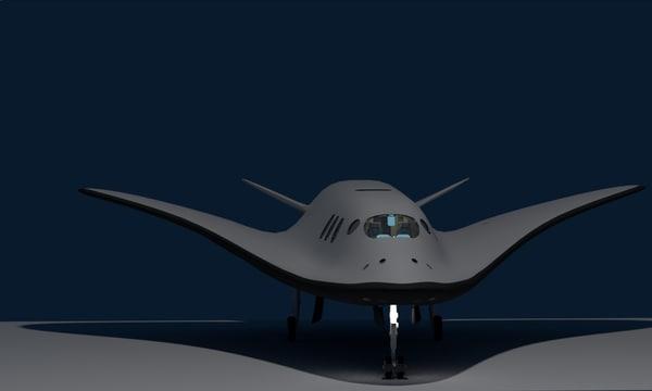 3d space shuttle sci fi