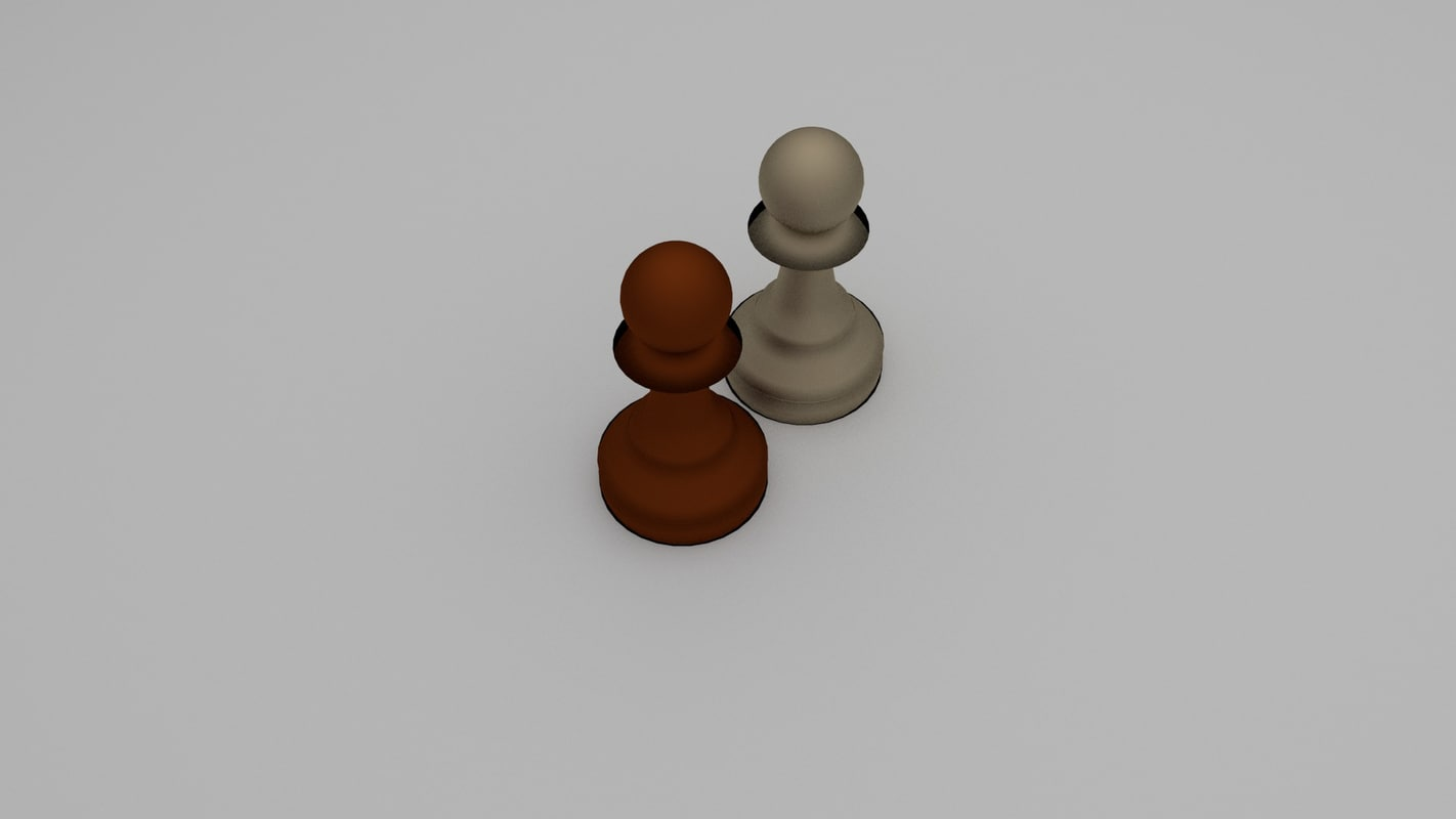 chess pawn 3d 3ds