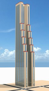 3d model skyscraper nr 10