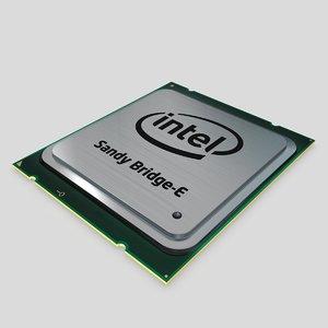intel core i7 3d model