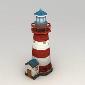 light lighthouse 3d model