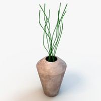 decorative vase 3d max