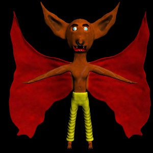 3ds max cartoon daemon
