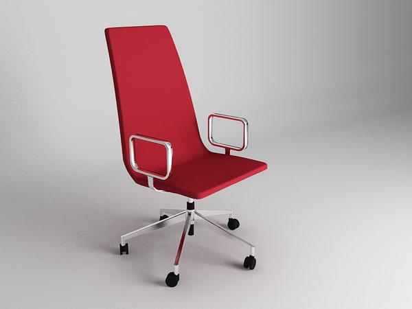 3d model moderne chair