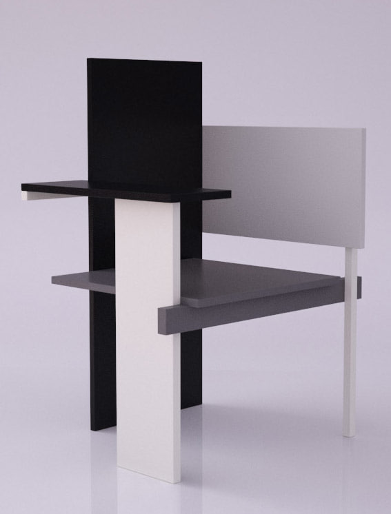 chair gerrit rietveld berlin max
