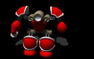 free obj model robot