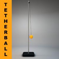 tetherball 3d max