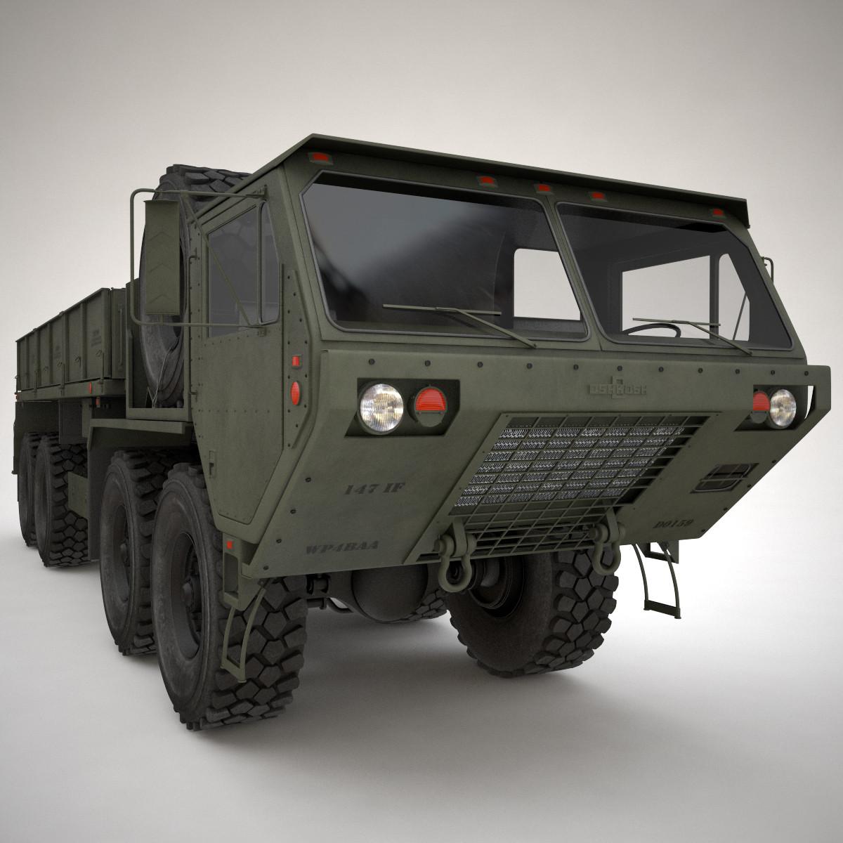 m985 cargo hemtt 3d max
