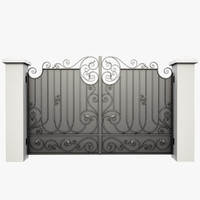 fbx wrought iron gate