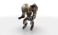 3d mech robot