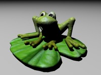 print frog 3d 3ds
