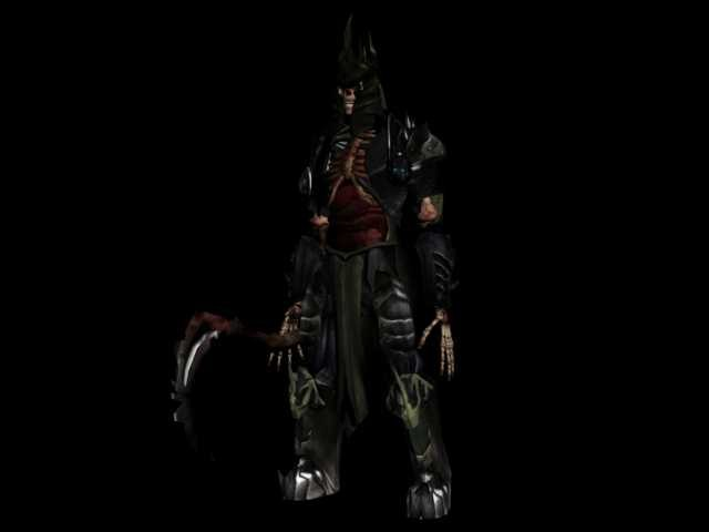 3dsmax liche undead king