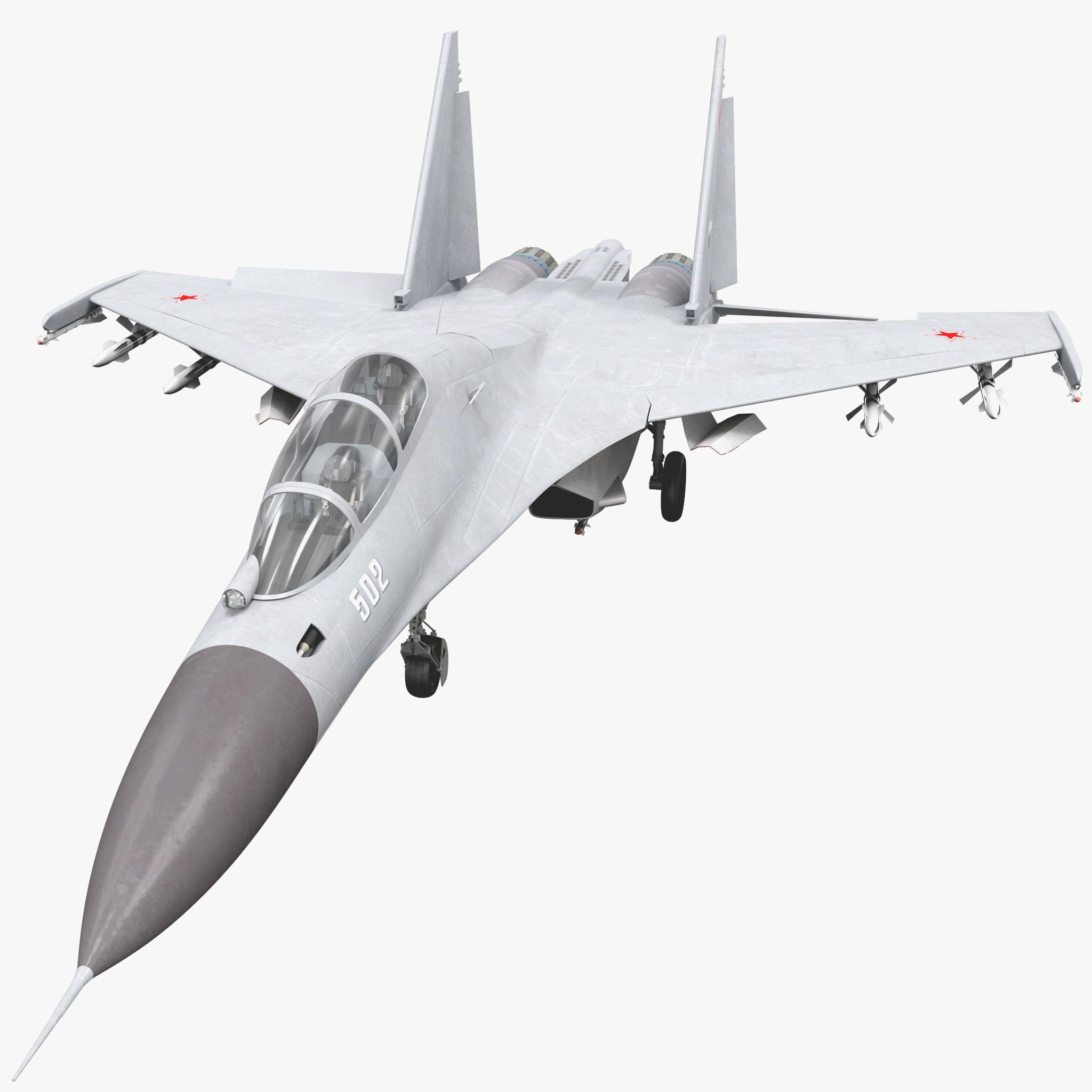 3d russian fighter aircraft sukhoi