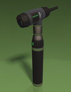 c4d otoscope medical equipment
