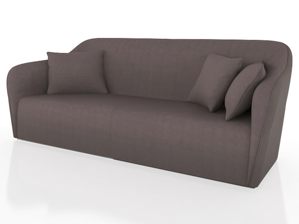 3d model smania gramercy sofa