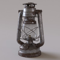 3d old lantern
