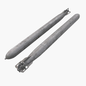 torpedo 3d obj