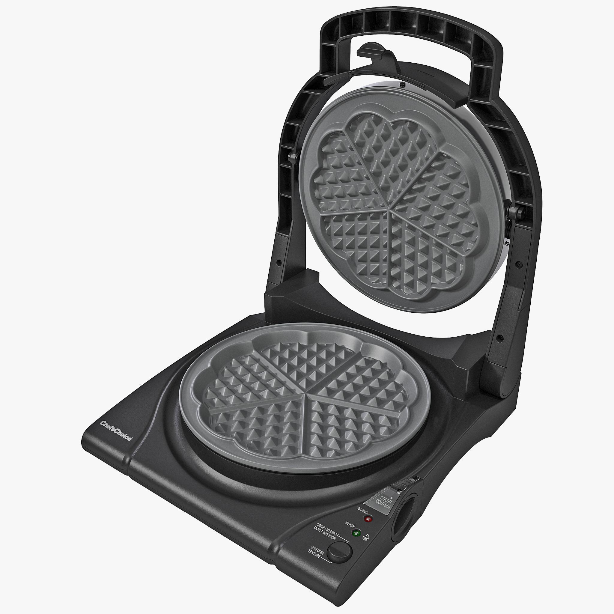 3d waffle maker model