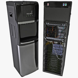 water cooler primo 3d max