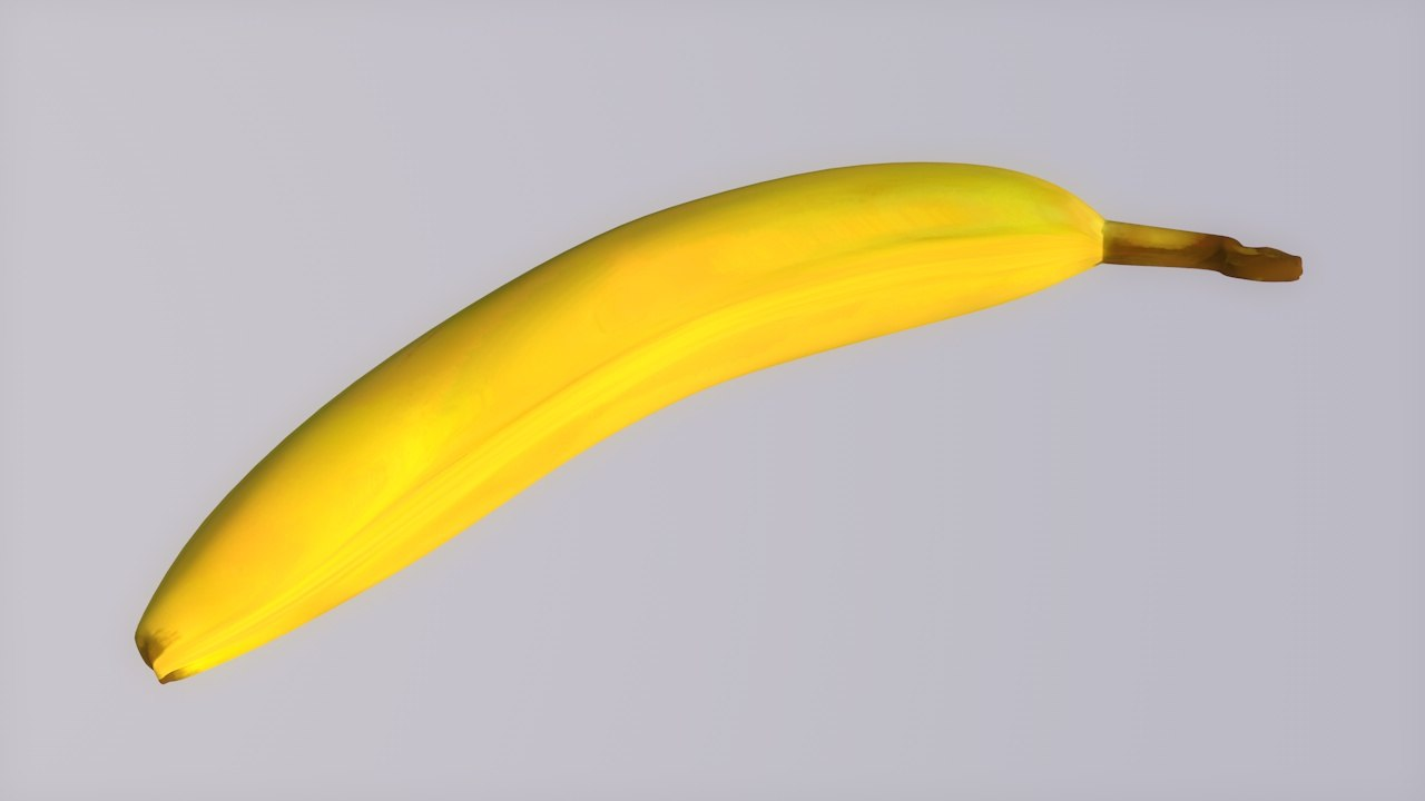 banana high-resolution easy 3d c4d