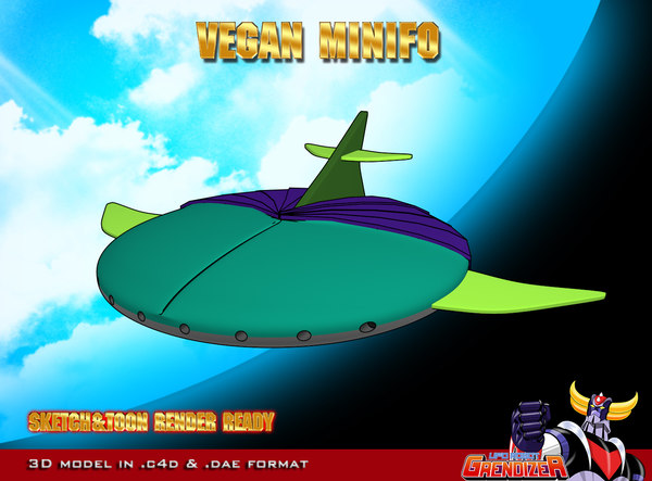 vegan minifo 3d c4d