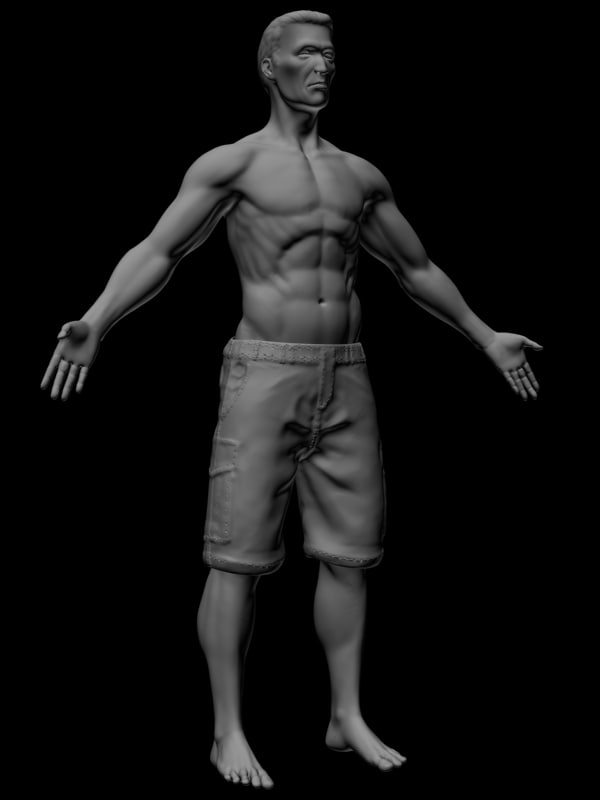 max male body man human