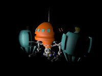 war robot cinema 4d